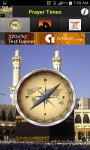 Islamic Prayer Times - Qibla compass screenshot 2/4