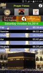 Islamic Prayer Times - Qibla compass screenshot 4/4