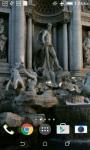 Trevi Fountain Live Wallpaper screenshot 3/4