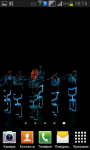Dancing aliens galaxy LiveWP screenshot 4/6