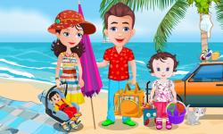 Baby Lisi Beach Party screenshot 1/2