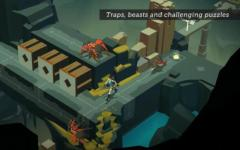 Lara Croft GO complete set screenshot 4/6