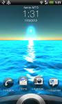 Sunset on the sea screenshot 2/2