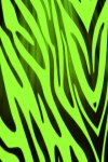Green Zebra Print Live Wallpaper screenshot 1/2