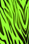 Green Zebra Print Live Wallpaper screenshot 2/2