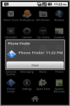 PhoneFinderAd screenshot 2/2