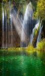 Tropical Waterfall Live Wallpaper screenshot 1/3