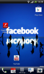 Facebook Live wallpaper Water AA screenshot 1/6
