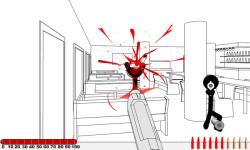 Stickman Gunfire-Sniper Hero Games screenshot 1/4