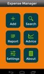 Expense Manager App screenshot 2/6