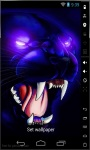 Scary Panther Live Wallpaper screenshot 2/2