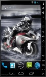 Motorcycle Speed Live Wallpaper screenshot 1/2