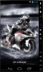 Motorcycle Speed Live Wallpaper screenshot 2/2