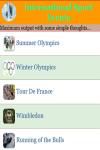 International Sport Events screenshot 1/3