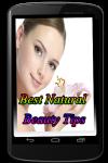 Best Natural Beauty Tips screenshot 1/3
