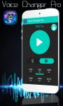 Voice Changer Pro screenshot 2/3