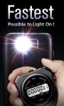 Super LED Flashlight Free screenshot 2/3