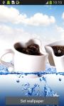 Coffee Cup Live Wallpapers screenshot 2/6