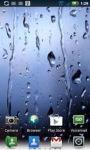 Rain On The Glass Live Wallpaper screenshot 1/2