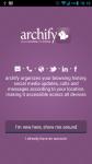 archify screenshot 1/3