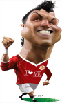 CR 7 Cartoon Wallpaper Free screenshot 1/6