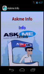 AskMe Info screenshot 2/3