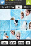Funny Frozen Puzzle Game screenshot 3/4