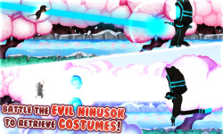 Kosunin: Costume Ninja Dash screenshot 3/5