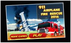 911 Airport Plane Fire Fighter screenshot 1/5