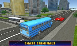 Police Bus Chase Adventure screenshot 2/4