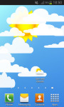 Sun and Clouds Live Wallpaper screenshot 1/4