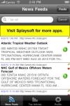 NOAA News Reader (National Oceanic and Atmospheric Administration) screenshot 1/1