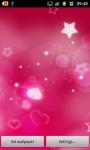 Red Hearts Live Wallpaper free screenshot 2/6