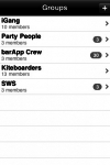 Groups screenshot 1/1