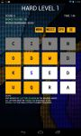 4WORD4 Word Game screenshot 3/6