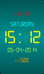 Dock Station Digital Clock screenshot 5/5