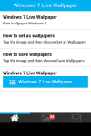 Windows 7 Live Wallpaper screenshot 2/5