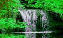 Green Falls Live Wallpaper screenshot 2/3