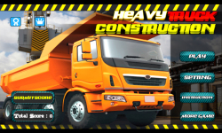Heavy Truck : Construction 3D screenshot 1/5