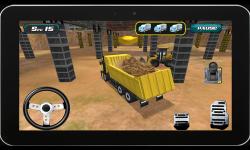 Heavy Truck : Construction 3D screenshot 3/5