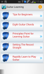 Guitar Learning For Beginners screenshot 1/3