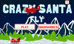 Crazy Santa Fly screenshot 2/5
