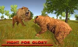 Rage of King Lion 3D screenshot 2/5