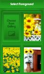 Sunflower Zipper Lock Screen Free screenshot 3/6