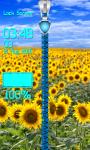 Sunflower Zipper Lock Screen Free screenshot 6/6