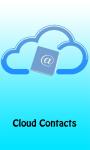 Cloud Contacts screenshot 1/3