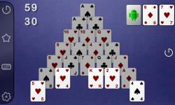 Smooth Pyramid Solitaire screenshot 1/3