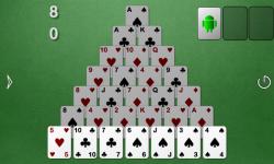 Smooth Pyramid Solitaire screenshot 2/3