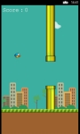 Flappy Bird Game W8 screenshot 2/5