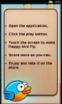 Flappy Bird Game W8 screenshot 5/5